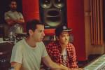 Mark Ronson recording music at our Toronto studio
