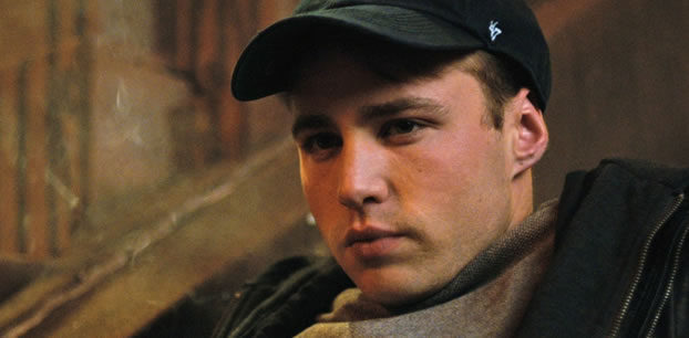 Emory Cohen records ADR at our Toronto recording studio