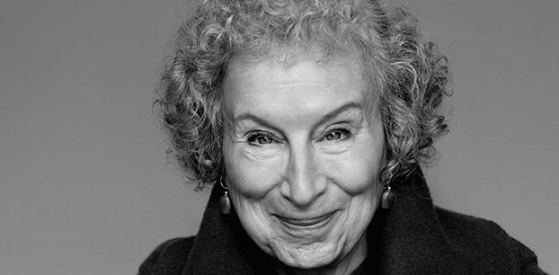 Margaret Atwood at our Toronto recording studio